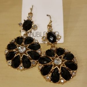 Baublebar crystal earrings